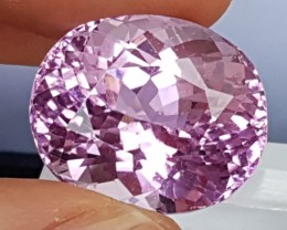 43.18cts, Kunzite,  Great Saturated Color,  Luminous