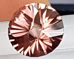 5.83cts,  Pink Zircon, Master Cut,  Natural Stone, Unheated,