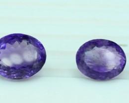 NO Reserve ~ 42.45 cts Untreated Amethyst Gemstones Parcel