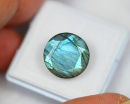 Lot 10 ~ 8.90Ct Natural Blue Color Flash Labradorite