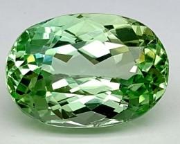 Stunning 11 Crt Green Spodumene    Gemstone   Jl144