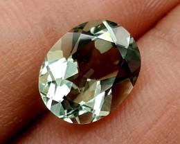 3.55 Crt Green Amethyst Prasolite   Gemstone   Jl144