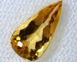 2.13CTS CERTIFIED GOLDEN/SHERRY TOPAZ FACETED GEMSTONE TBM-1375