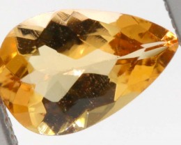 1.00CTS CERTIFIED GOLDEN/SHERRY TOPAZ FACETED GEMSTONE TBM-1378