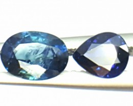 1.55 Crt Natural Sapphire Faceted Gemstone (907)