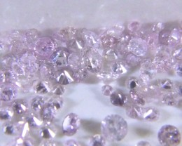 Certified 1.47ct Pink Diamond Parcel, 100% Natural Untreated