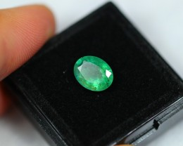 NR Lot 03 ~ 1.56Ct Natural Excellent Luster Zambian Emerald