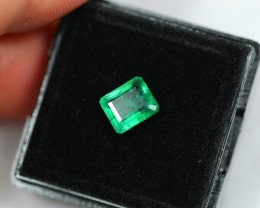 NR Lot 07 ~ 1.50Ct Natural Excellent Luster Zambian Emerald