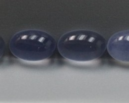 CHALCEDONY NATURAL BLUE