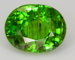 Gil Cert Rutile Tsavorite 1.22 ct A Unique Specimen from Tanzania SKU.1