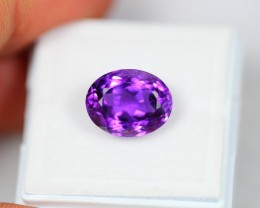 Lot 13 ~ 4.95Ct Natural VS Clarity Violet Color Amethyst