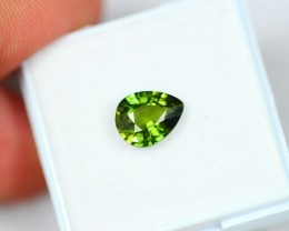 Lot 16 ~ 1.98Ct Natural VS Clarity Green Color Sapphire