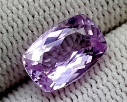 3.10 CT PINK KUNZITE CUSHION CUT BEST QUALITY GEMSTONE IGC72