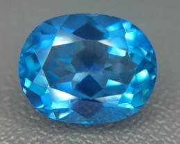 5.23 Ct Awesome Topaz Excellent Luster & Color Gemstone Kj40