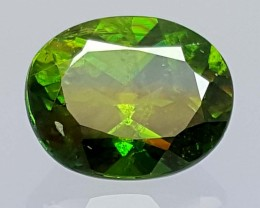 2.45 Crt Very  Rare Sphene Top Green With Multi Color Shades jls04