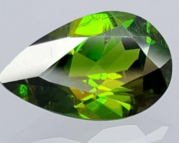 2.85 Crt Very  Rare Sphene Top Green With Multi Color Shades jls05