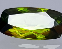 1.95 Crt Very  Rare Sphene Top Green With Multi Color Shades jls06