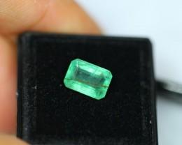 2.56Ct Natural Zambia Emerald Lot V38