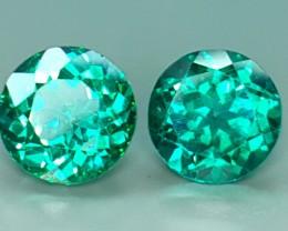 3.65 Crt Natural Green Topaz Faceted Gemstone (908)