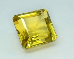 13.35 Crt Natural Lemon Quartz Faceted Gemstone (R 97)