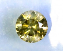 GIL Certified - Fancy DEEP Greenish Yellow -  1.02 ct - SI1