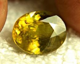 7.13 Carat Green Siberian Sphene - Gorgeous
