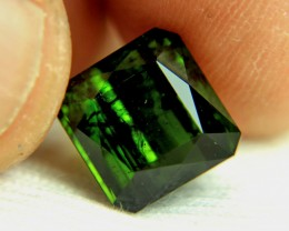 6.96 Carat Green Nigerian Tourmaline - Cool
