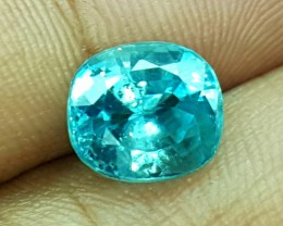 4.10 Crt Natural Blue Zircon Faceted Gemstone (909)