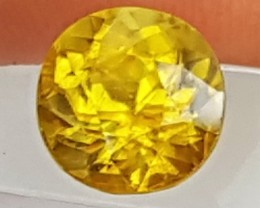 """2.11cts, """"Titanite"""",  Top Fire and Color..  Eye Clean"""