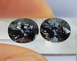 4.56cts Titanium Blue Spinel,  100% Untreated,