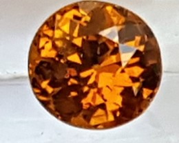 1.00cts, Mali Garnet, Rare Pure Orange,  Untreated,