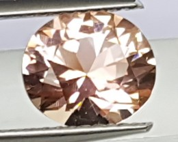 1.82cts, Certified Tourmaline,  Master Cut,  Open c axis,