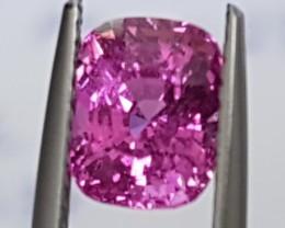2.23cts Bubblegum Pink Sapphire, Heat Only,