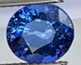 2.00cts,  Ceylon Blue Sapphire,  Cornflower Blue,  Heat Only,  Clean
