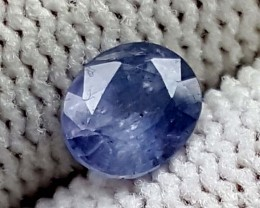 0.85 CT KASHMIR BLUE SAPPHIRE UNHEATED GEMSTONE IGC74