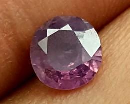 0.90 Crt Pink Kashmir Unheated Stunning  Gemstone   Jl147