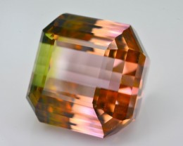 21.17 ct Bi Color Tourmaline Great Hue and Luster SKU-7