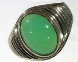 6Cts Natural Chrysoprase Ring PPP1608