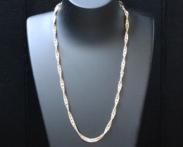 NECKLACE SILVER CHAIN 925 CHAIN 50CM PPP1609