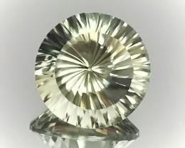 8.48ct Rare Cut Green Amethyst  (Prasiolite) - Extreme luster top gem
