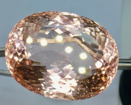 125.70 Crt Natural Morganite Top Quality  Faceted Gemstone (R 98)