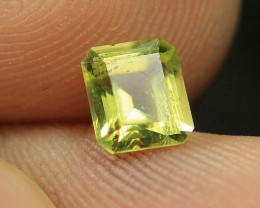 WOW Peridot Color Tourmaline Collector's Gem