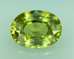 1.37 Ct Natural Sphene Excellent Color & Luster Gemstone ~ Kj42