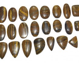 1001.30 Ct UNTREATED NATURAL BEAUTIFUL TIGERS EYE WHOLESALE LOT
