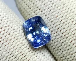 UNHEATED 1.97 CTS CERTIFIED NATURAL BEAUTIFUL CUSHION BLUE SAPPHIRE SRI LAN