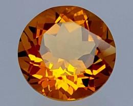 3.55 Crt Madeira Citrine  Stunning  Gemstone   Jl148
