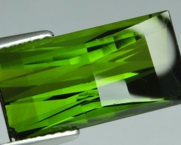 6.40 CTS EXTREMELY FINE FIRE NATURAL GREEN TOURMALINE $699