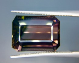 19.30 Crt Natural Bi Color Tourmaline Faceted Gemstone