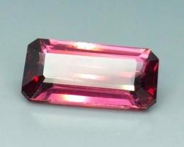0.90 Crt Natural Rhodolite Garnet Faceted Gemstone (911)