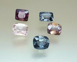 4.05 Crt Natural Spinel Lot Faceted Gemstone (R 100)
